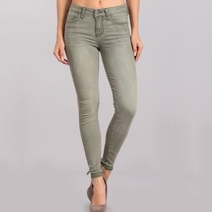 B2G1 Celebrity Pink Green Stretchy Skinny Jeans